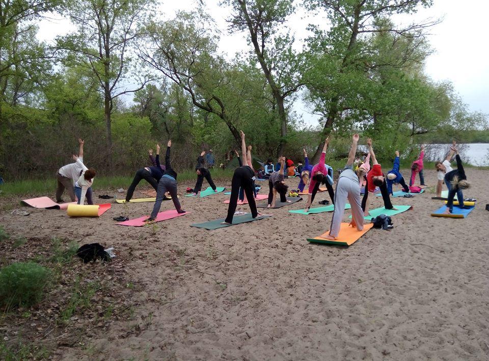 занятия по йоге в запорожье