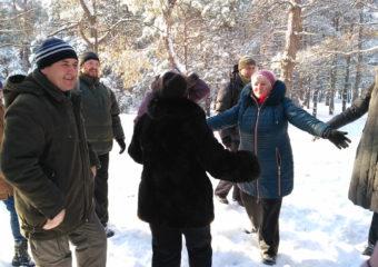 Зимний тренинг на Хортице
